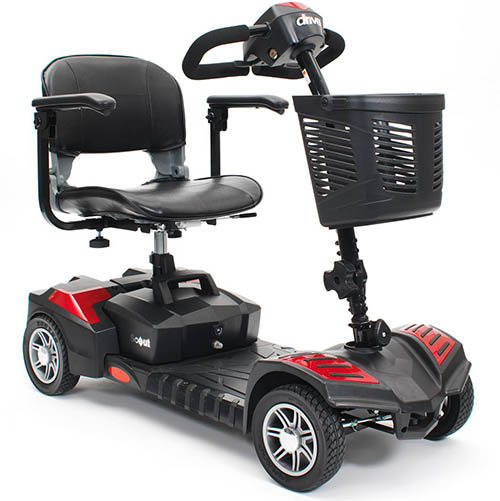 Scooter compact scout pour seniors