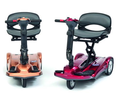 Scooter pliant automatique pour seniors