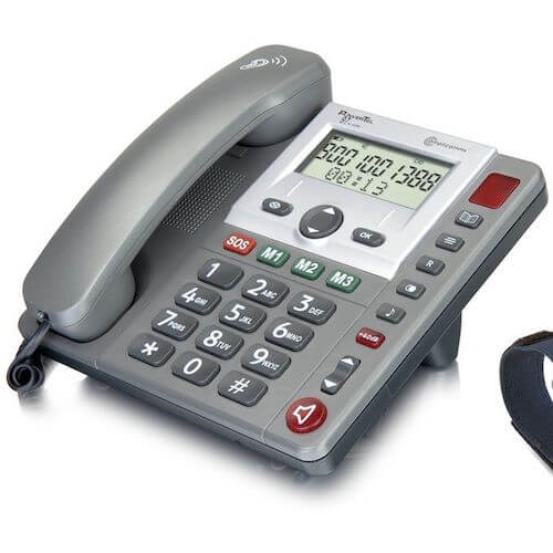 telephone senior avec amplificateur