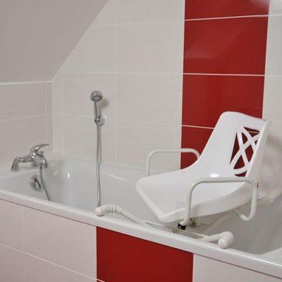 Siège pivotant baignoire senior