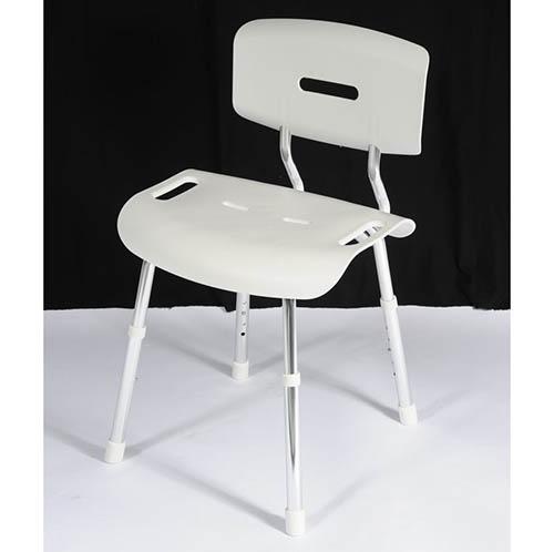 chaise de douche paros pour personnes g es sweetdom. Black Bedroom Furniture Sets. Home Design Ideas