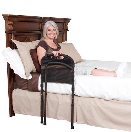 Barrière de lit en 2 parties pour senior