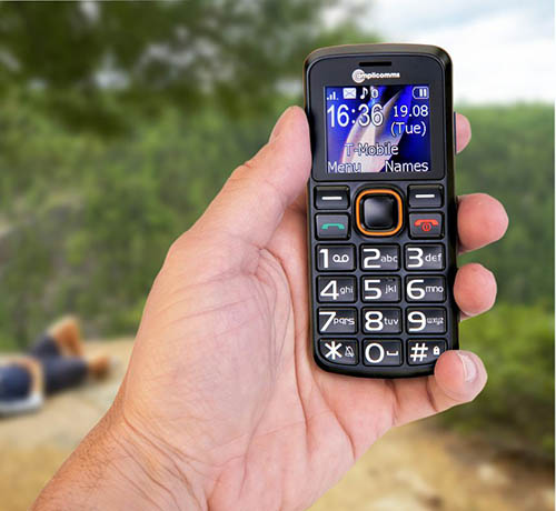 Telephone mobile seniors