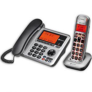 Combi 2 téléphones filaire et DECT