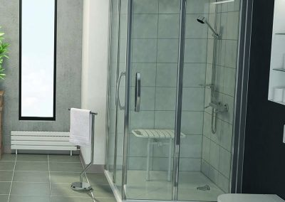 Une douche à l'italienne qui change tout