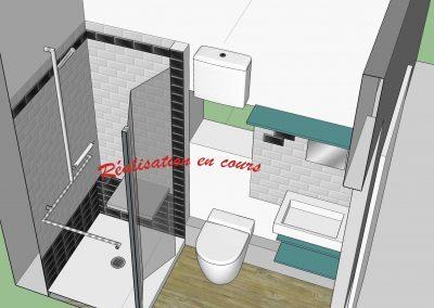Transformation intégrale d'un appartement