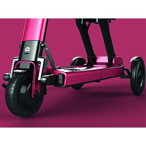 Scooter pliant manuel