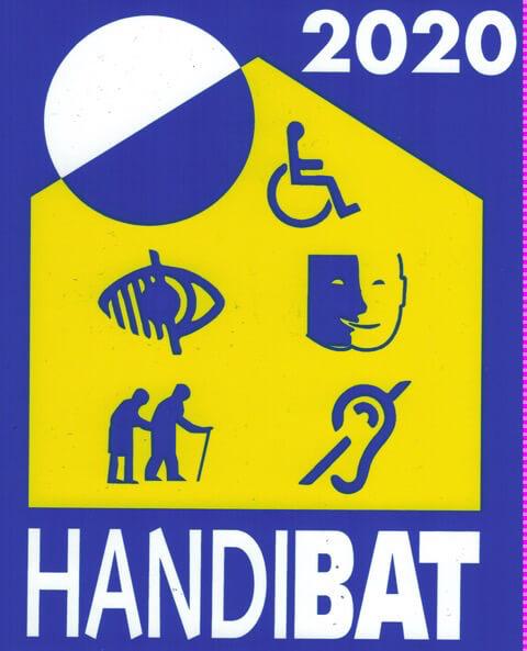 Logo Handibat 2020